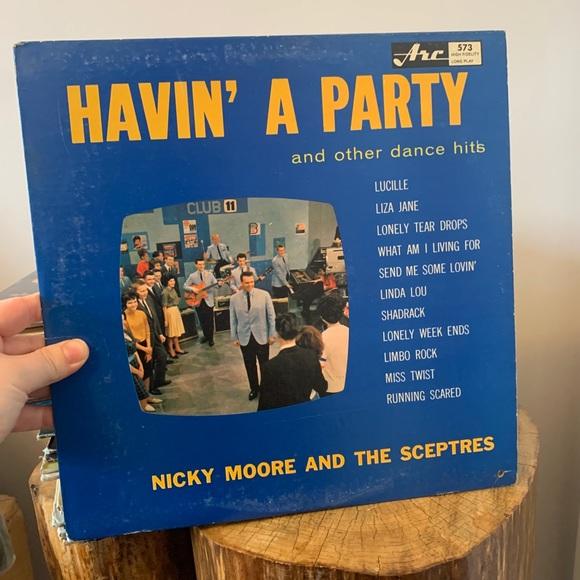 VINTAGE / Record / 1960s / Havin' a Party